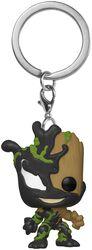 Venomized Groot Pocket POP! Klíčenka