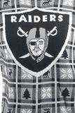 Svetr s klasickým výstřihem Oakland Raiders