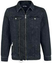 Zip Up Trucker Jacket