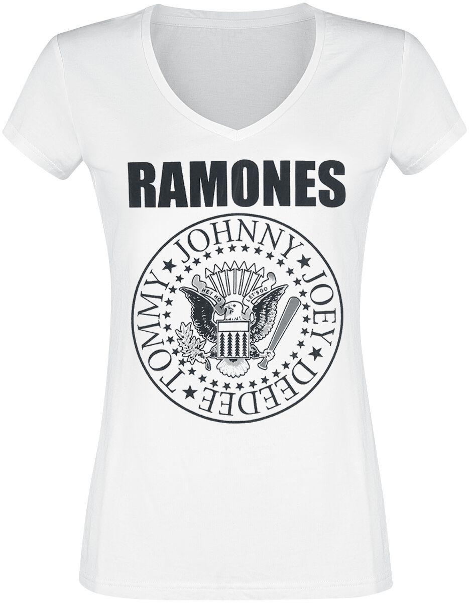 59056d628416 Ramones. Eagle Logo. Tričko