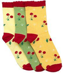 Balení 3 párů ponožek Crazy Summer