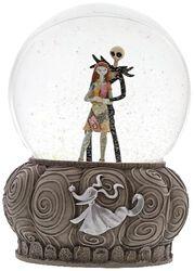 Jack and Sally - Snow Globe