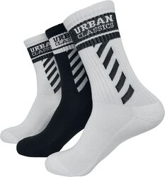 Balení 3 párů sportovních ponožek s logem