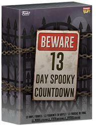 Halloweensky kalendář Beware 13 Day Spooky Countdown