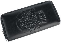 Peněženka s motivem lebky