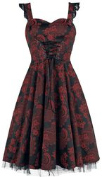 Red Marie Antoinette Gothic Long Dress