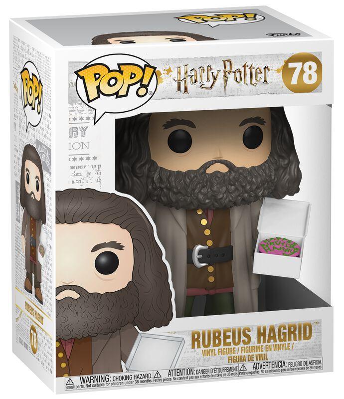 Vinylová figurka č. 78 Rubeus Hagrid (Super Pop!)