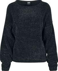 Dámský oversized svetr Chenille