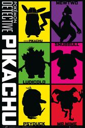 Detective Pikachu - Silhouette