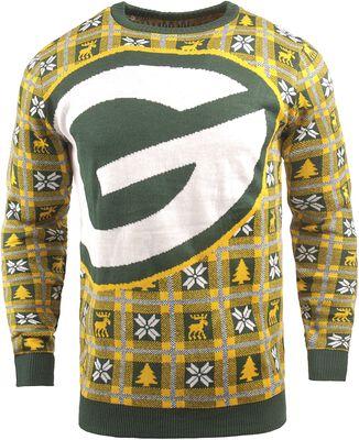 Svetr s klasickým výstřihem Green Bay Packers