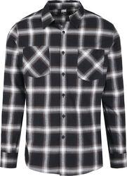 Kostkovaná flanelová košile 6