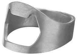 otvírák na lahve ve tvaru prstenu