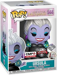 Vinylová figurka č. 568 Disney Villains - Ursula (Diamond Glitter Edition)