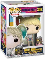 Vinylová figurka č. 308 Harley Quinn and Beaver