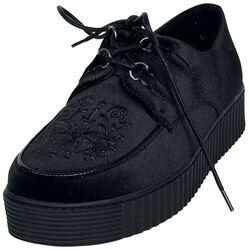 Černé creepers boty