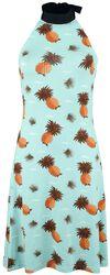 Šaty se zavazováním kolem krku Pineapple