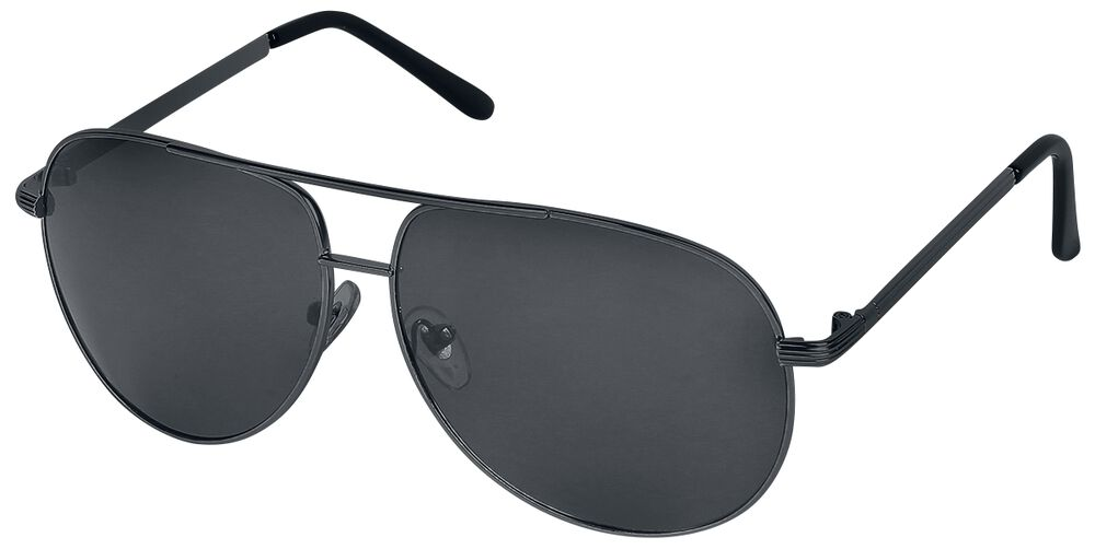 Letecké sluneční brýle Aviator Black Deluxe