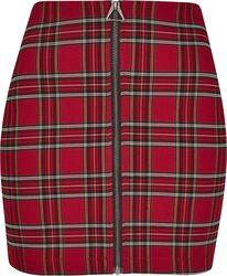 Dámská krátká sukně Checker