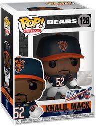 Vinylová figurka č. 126 Chicago Bears - Khalil Mack
