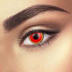 Kontaktní čočky Red Vampire Eye