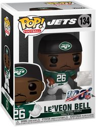 Vinylová figurka č. 134 Jets - Le Veon Bell