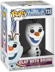 Vinylová figurka č. 733 Olaf With Bruni - 2
