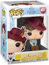 Vinylová figurka č. 467 Mary Poppins with Bag