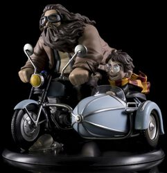 Q-Figure MAX (Diorama) Harry Potter and Rubeus Hagrid